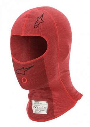 Подшлемник для автоспорта ZX EVO v2,красный/тём. красный,один  Alpinestars 4754320_313_OS
