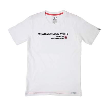 Футболка Crew Neck Short Sleeves Whatever Lola wants White  XL OMP Racing RS/TS/0011/020/x