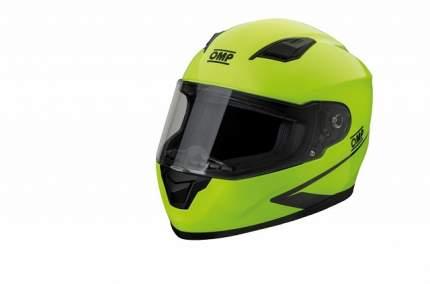 Шлем для картинга закрытый Circuit EVO,флуоресцентно-жёлтый,ECE 22,05,XXL OMP Racing SC613