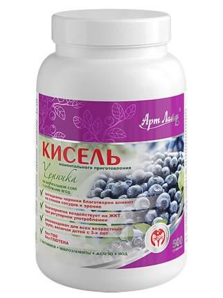 """Кисель """"Черника"""" с ягодами Арт Лайф, 500 гр."""