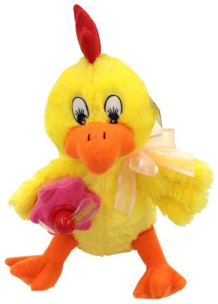 Мягкая игрушка LAPA HOUSE Петушок Яшка, 28 см поет, танцует