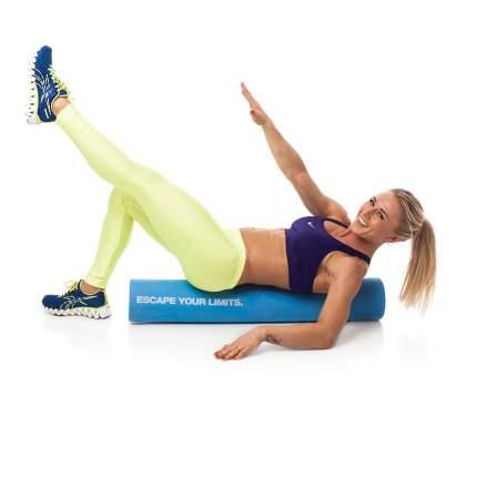 Ролик для йоги и пилатеса Escape EST-LRRS 975 г, 90,5 x 15 см, голубой