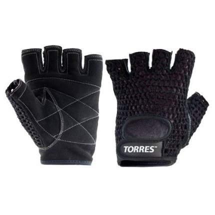 Перчатки для фитнеса Torres PL6045, black, S