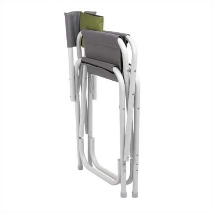 Кресло директорское серый/зеленый (T-HS-DC-95200-GG) Helios (пр-во ГК Тонар)