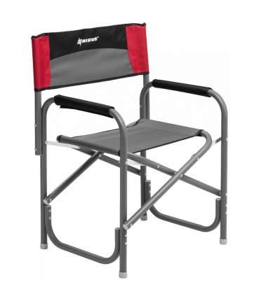 Кресло директорское MAXI серый/красный/черный (N-DC-95200-M-GRD) NISUS (пр-во ГК Тонар)