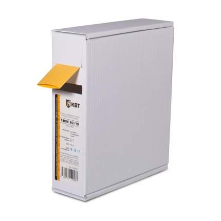 Термоусадочная трубка КВТ Т-BOX-4/2 желт 10м