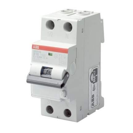 Дифференциальный автоматический выключатель ABB DS201 L  C16 AС30