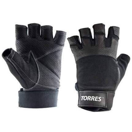 Перчатки для фитнеса Torres PL6051, black, S