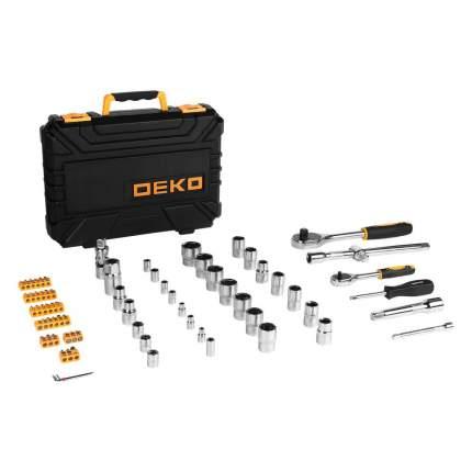 Набор инструмента для авто в чемодане DEKO DKMT72 (72 предмета) 065-0734