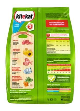 Сухой корм для кошек Kitekat, улов рыбака, 0,35кг