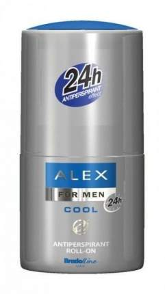 Шариковый дезодорант для мужчин Alex Cool, 50 мл