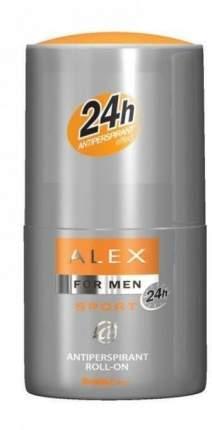 Шариковый дезодорант для мужчин Alex Sport, 50 мл