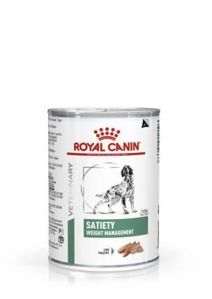 Консервы для собак ROYAL CANIN Satiety Weight Management, домашняя птица, 410г