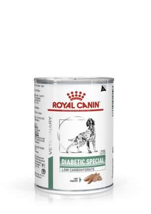 Консервы для собак ROYAL CANIN Diabetic Special Low Carbohydrate, мясо, 410г