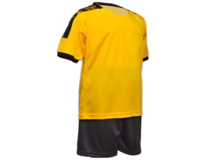 Форма футбольная. Цвет: жёлто-чёрный. Размер 38. ЖЧ-38#
