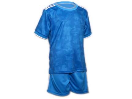 Форма футбольная. Цвет: голубой. Размер 46. Г-46#