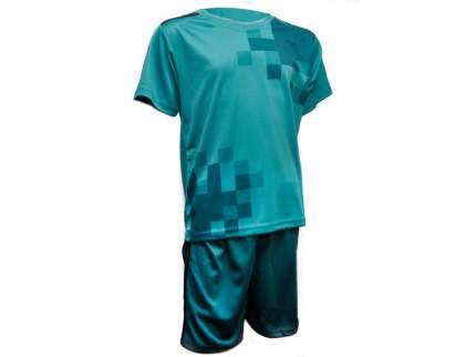 Форма футбольная. Цвет бирюзовый. Размер 56. Материал: полиэстер. F-RM-56# EU-50#