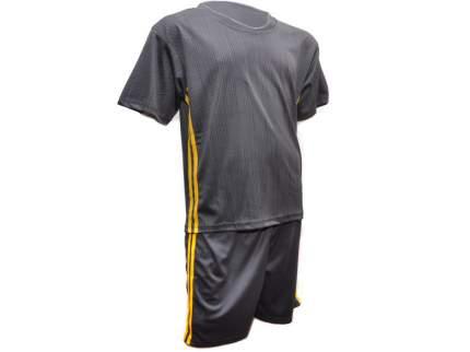 Форма футбольная, серый с желтыми полосками, 54, F-JU-54# EU-48#