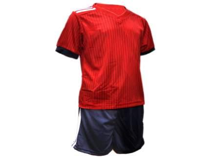 Форма футбольная, красный с белыми полосками, 54, F-BV-54# EU-48#