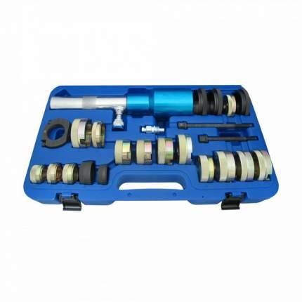 Набор оправок для монтажа сайлентблоков MB, гидравл, кейс, 24 предмета 110-22024C МАСТАК