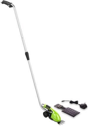 Аккумуляторные ножницы с телескопической ручкой Greenworks 1600807 АКБ и ЗУ в комплекте