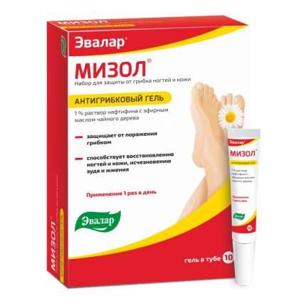Гель для ног Мизол Антигрибковый 10 г