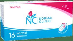 Тампоны для критических дней normal (3 капли) NORMAL Clinic, 16 шт