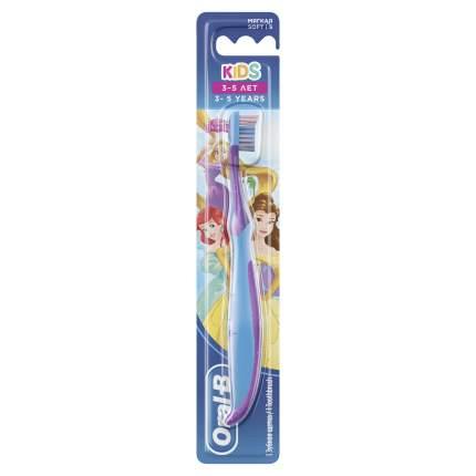 Детская зубная классическая щетка Oral-B Kids Мягкая 3-5