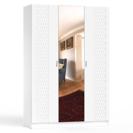 Шкаф распашной 1500 СВК Ручеек цвет белый