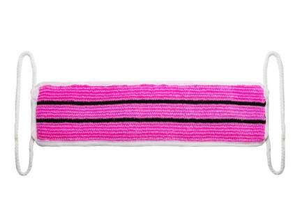 Мочалка для бани Verona МБ-18.р розовая