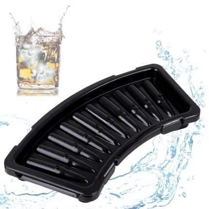 Силиконовая форма для льда Патрон, черный, 20,5х15,5х9,2 см, Kitchen Angel KA-FORMICE-24
