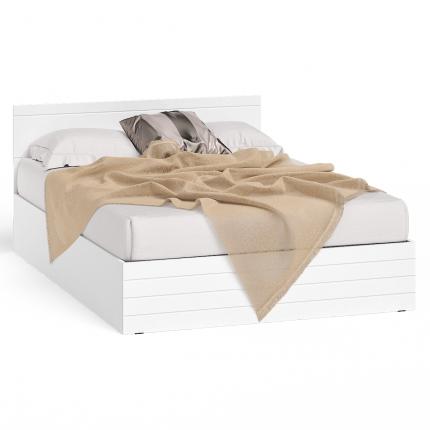 Кровать 1400 СВК Елена цвет белый