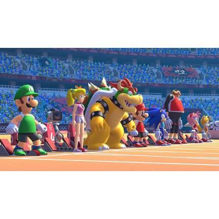 Игра Марио и Соник на Олимпийских Игра х 2020 в Токио для Nintendo Switch