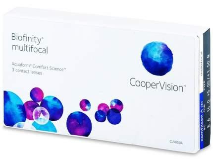 Линзы контактные CooperVision Biofinity multifocal 3 шт. -3/+1,00/D