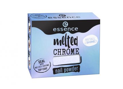Пудра для ногтей Essence  эффектная,  Melted Chrome, т,05