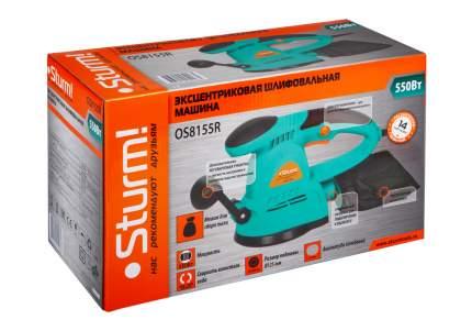 Сетевая эксцентриковая шлифовальная машина Sturm! OS8155R