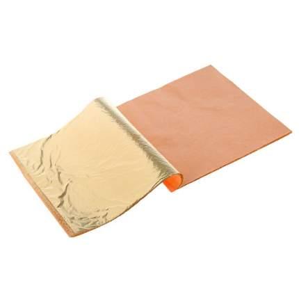 Поталь в книжке для золочения «Сонет», 14 х 14 см, 25 листов, имитация золота Невская пали