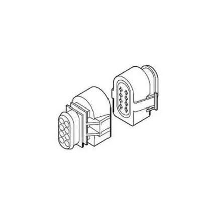 Колодочный Разъем 8-Ми Контактовый, Комплект Hydronic Eberspacher арт. 221000301021
