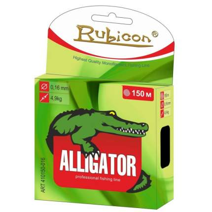 Леска Alligator 150 m dark green