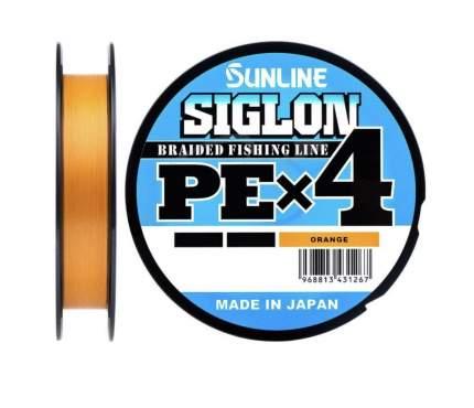 Шнур SIGLON PE×4 150 м (Orange)
