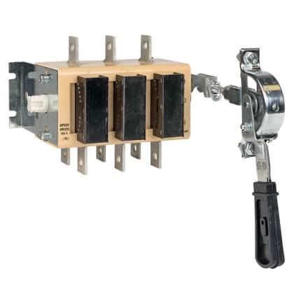 ВР32У-37A71240-R 400А, 2 направ. с д/г камерами, с перед смещённой рукояткой EKF