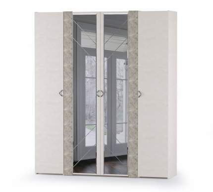 Набор шкафов Mobi Амели НШ-3 шёлковый камень/бетон чикаго беж, 194,8х51,3х230 см.