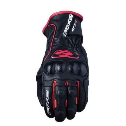 Мотоперчатки FIVE RFX4 черно-красные XL