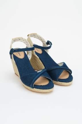 Эспадрильи женские Pepe Jeans London PLS90455 синие 36 RU