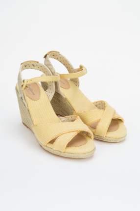 Эспадрильи женские Pepe Jeans London PLS90453 желтые 36 RU