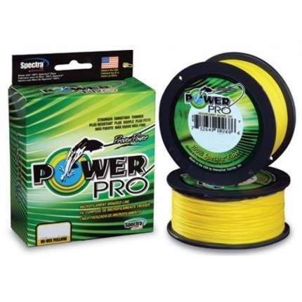 Шнур Power Pro 135 м Hi-Vis Yellow