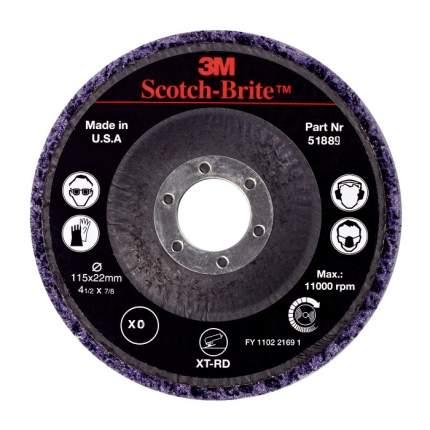 Круг для очистки поверхности Clean and Strip Pro XO-RD,S XCRS, 115 x 22 мм
