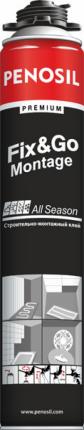 Клей Penosil Premium Fix&Go Montage, аэрозольный, монтажный, 750 мл, A3023