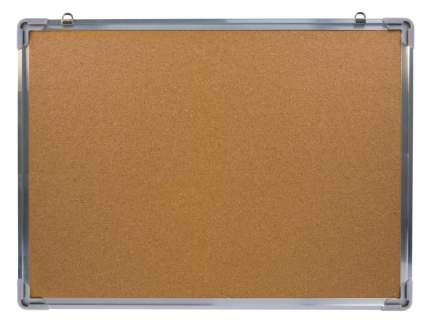 Демонстрационная доска Silwerhof 654007 пробковая 60x45см алюминиевая рама