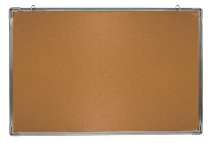 Демонстрационная доска Silwerhof 654008 пробковая 60x90см алюминиевая рама